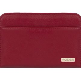 Myabetic Banting Diabetes Supply Wallet (Crimson Red)