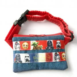 Star Wars Ribbon Denim Pump Pouch 16″ – 23″