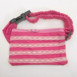Pink Lace Pump Pouch 24″ – 30″