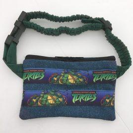 Ninja Turtles Denim Ribbon Pump Pouch 16″ – 23″
