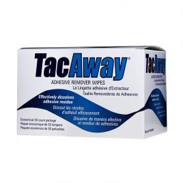 TacAway Adhesive Remover Wipes