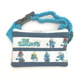 The Smurfs Denim Ribbon Pump Pouch 16″ – 23″