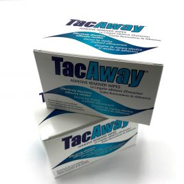 TacAway Adhesive Remover Wipes (50 wipes)