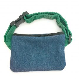 Denim Pump Pouch 16″ – 23″