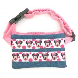 Minnie Mouse Denim Ribbon Pump Pouch 24″ – 30″