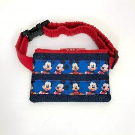 Disney Mickey Mouse Denim Ribbon Pump Pouch 24″ – 30″