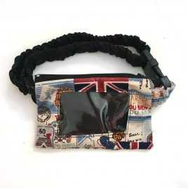 Union Jack Clear Screen Pump Pouch 16″ – 23″