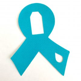 Diabetes Awareness Ribbon Dexcom Patch