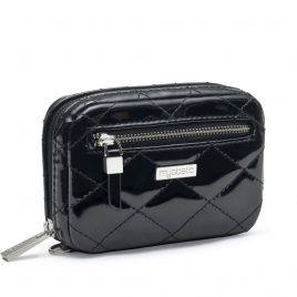 Myabetic James Diabetes Compact Case (Quilted Black Gloss)