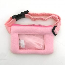 Clear Screen Soft Pink Pump Pouch 16″ – 23″