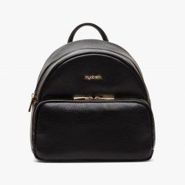 Myabetic Brandy Diabetes Backpack (Black Leatherette)