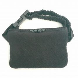 Black super soft Pouch 24″ – 30″