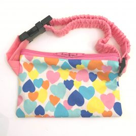 Colorful Hearts Pump Pouch 16″- 23″