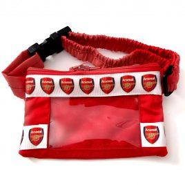 Arsenal Ribbon Clear Screen Pump Pouch 24″ – 30″
