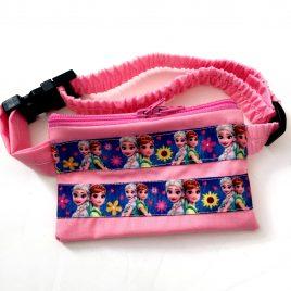 Pink Frozen Ribbon Pump Pouch 16″- 23″