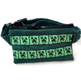 Minecraft Creeper Green Pump Pouch 24″ – 30″