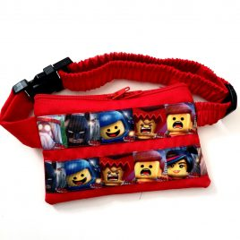 Red Lego Movie Ribbon Pump Pouch 16″ – 23″