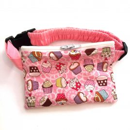 Cupcakes Baby Pink Pump Pouch 24″-30″