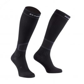 Mens Zeropoint Hard Compression Performance Socks (Black)