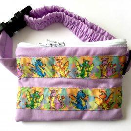 Dragons Purple Ribbon Pump Pouch 24″ – 30″