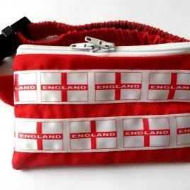 England Flag Pump Pouch 16″ – 23″