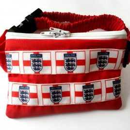 England Three Lions Pump Pouch 16″ – 23″
