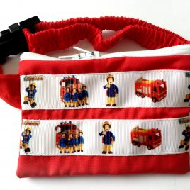 Red Fireman Sam Pump Pouch 24″ – 30″