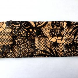 Ornamental Lace Slim Lycra Waistband (Small)