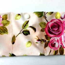 Pink Painted Roses Lycra Waistband (Small)