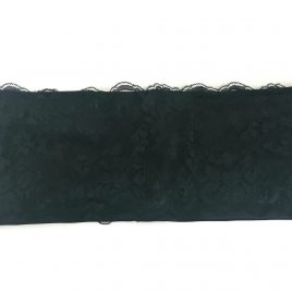 Black Lace Lycra Waistband (Small)