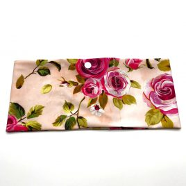 Pink Painted Roses Lycra Waistband (Medium)