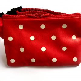 Splash Resistant Red Polka Dot 16″ – 23″