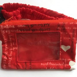 Heartfelt Clear Screen Pump Pouch 16″- 23″