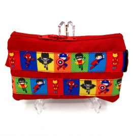 Mini Superhero's Red Pump Pouch 16″-23″