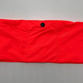 Neon Orange Lycra Waistband (Large)