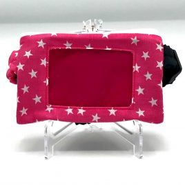 Stars Pink Clear Screen Pump Pouch 24″-30″