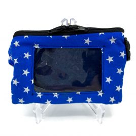Stars Blue Clear Screen Pump Pouch 32″-40″