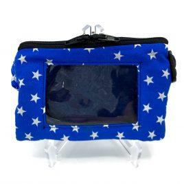 Stars Blue Clear Screen Pump Pouch 24″-30″