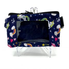 Midnight Unicorn Clear Screen Pump Pouch 24″-30″