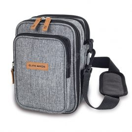 Multi-way Diabetic Supply Bag (Grey)