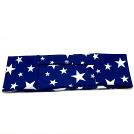 Blue Stars Slim Lycra Band (large)