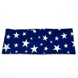 Blue Stars Lycra Band
