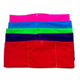 Block Colour Lycra Band (various colours and sizes available)