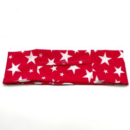 Pink Stars Slim Lycra Band (large)