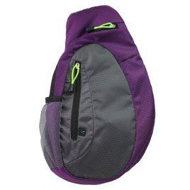 Diabetes Supplies Sling Backpack – Purple