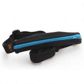 Child SpiBelt 'Black with turquoise zip' with Buttonhole
