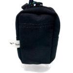Black Pocket Pump Pouch Back