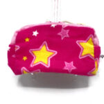Pink with Yellow Stars