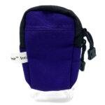 Purple Pocket Pouch Back