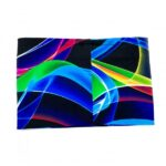 Multi-Coloured Swirls Back